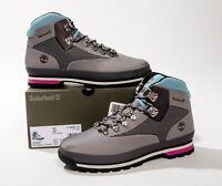 Timberland Euro Hiker Jacquard Mid Hiking Boots Medium Grey Mens Sz 11 New w Box