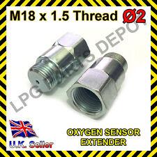 Lambda O2 Sensor de oxígeno Extensor Espaciador para Euro & hidrógeno M18 X D2 De Acero
