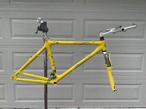 "VINTAGE Full carbon 1996 Giant MCM-1 Mountain Bike Frame (19"") + Rockshox Judy"