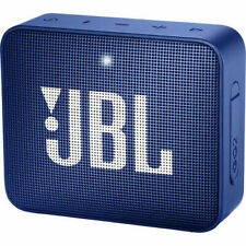 JBL GO 2 Portable Bluetooth Waterproof Speaker Blue (JBLGO2BLU)