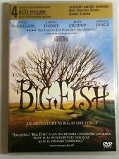 Big Fish (Dvd 2004- New) Ewan McGregor 125 min.