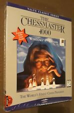 SEALED Chessmaster 4000 Big Box Software Mindscape for PC computers windows 95