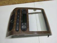 04-08 Ford F150 Woodgrain Radio Bezel HVAC Digital Heater Climate Control A/C AC