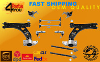 full KIT SET front SUSPENSION BALL JOINT ARMS WISHBONE LINKS VW EOS SCIROCCO