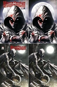 MOON KNIGHT #1 MICO SUAYAN MARCO MASTRAZZO EXCLUSIVE VARIANT SET NM AVENGERS