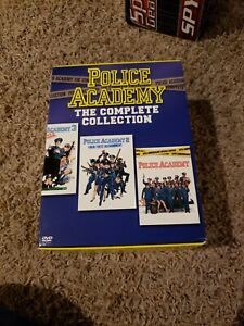 Police Academy 1984-1994 The Complete Collection 7 DVD disk set in the case 2004