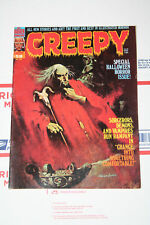 Vintage Creepy Magazine Issues #58! Sanjulian Cover! Fine+