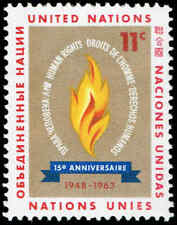 Scott # 122 - 1963 - ' Flame of Freedom '