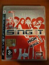 DISNEY SING IT HIGH SCHOOL MUSICAL 3 SENIOR YEAR - PLAYSTATION 3 PS3 USATO