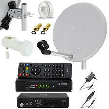 HDTV HD HDMI Camping Mobile SAT Anlage Digital Receiver 230V 12V EasyFind LNB