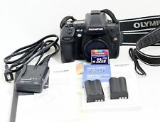 Olympus EVOLT E-5 12.3MP Digital SLR Camera Black Body Only and Items Shown