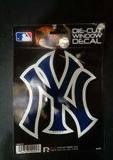 New York Yankees Die Cut window decal MLB licensed apx 5  1/2  by 4  3/4 inches