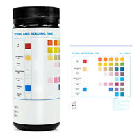 7In1 Aquarium Fish Tank Water Test Nitrate Nitrite PH KH Tester 50 Strips  Y3D