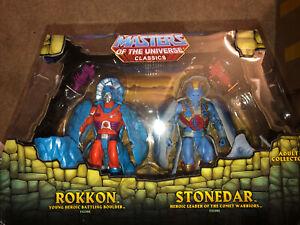Mattel Masters of the Universe Classics ROKKON & STONEDAR 4 Horsemen MOTUC