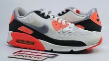 meet adf8e 4029d NIKE AIR MAX 90 HYPERFUSE NRG USED SIZE 9 INFRARED WHITE CEMENT GREY 548747  106