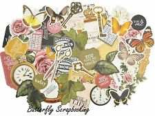 TREASURED MOMENTS Collectables Collection Scrapbooking 50 Die Cuts Kaisercraft