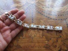 Lovely Antique Victorian Cameos 14k Gold Hallmarked Bracelet