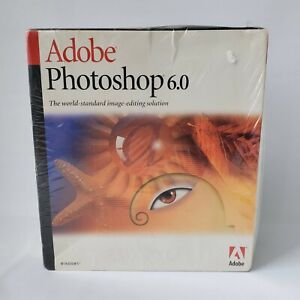 Adobe Photoshop 6.0 Retail 1 User/s - Full Version for Windows 23101335