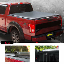 """Tonneau Cover Roll Up Lock Soft 6.5 FT 78"""" Short Bed For Toyota Tundra 2007-2018"""