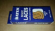 Bates Unisex Shoe Boot Laces 45in Gold