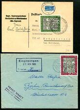 BUND 1951 139-140 je EF MARIENKIRCHE gepr BPP 360€+(J6952b