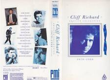 CLIFF RICHARD PRIVATE COLLECTON 1979-1988  VHS PAL VHS PAL VIDEO A RARE FIND