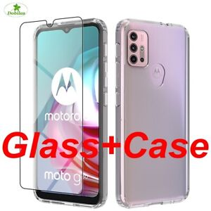 HARD CASE For Motorola G8 9 Power G30 Shockproof Cover Protective Tempered Glass