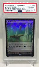 MTG Magic the Gathering MYSTIC GATE Holo Foil Zendikar Expeditions PSA 10 GEM