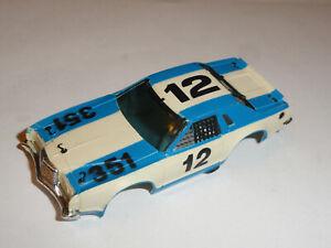 AURORA AFX #12 MERCURY STOCKER HO SLOT CAR BODY ONLY GOOD USED CONDITION