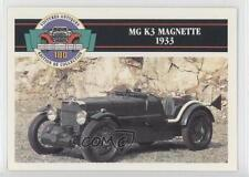 1991 #56 MG K3 Magnette 1933 Non-Sports Card 0b6