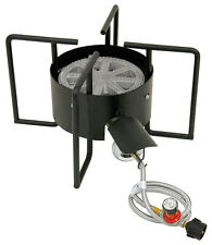 """Bayou Classic KAB6 Outdoor Propane Gas Cooker Burner 22"""" Wide 30 psi"""