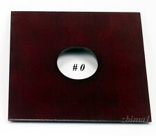 """1 LENS BOARD 4 1/2"""" x4 1/2""""  for Kod. Eastman 2-D  5x7"""" for Copal #0 or #1 or #3"""