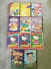 Lot Of 11 Children's DVDs Carebears, My Little Pony, Hello Kitty, Ni Hao Kai-Lan