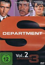 DVD - Department S - Vol. 2 - 3 Folgen - Joel Fabiani & Peter Wyngarde