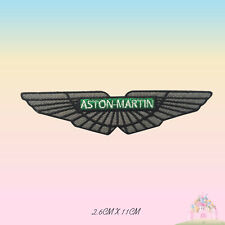 Aston Martin Car Brand Logo Embroidered Iron On Patch Sew On Badge Applique