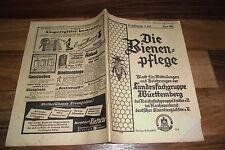 die BIENENPFLEGE  #  3/1938 -- Schulungsblatt Landesfachgruppe Imker Württemberg