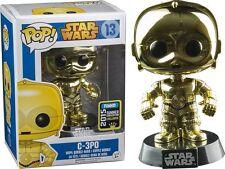 FIGURA STAR WARS C-3PO C3PO C 3PO ROBOT POP FUNKO VERANO CONVENIO EDICIÓN 2015