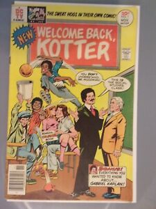 WELCOME BACK KOTTER #1 DC TV COMIC BOOK 1975  F+ 6.5