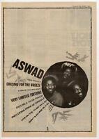 Aswad UK45' advert 1984