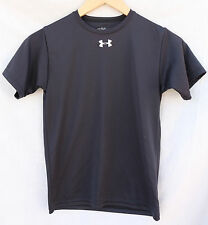 UNDER ARMOUR Youth SMALL BLACK short-sleeved SHIRT