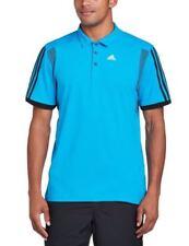 adidas Herren-Sporttops-Polyester in Blau