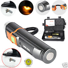 LED Zoom XM-L T6 USB Rechargeable 5000LM Taschenlampen 5Modi Torch 18650 Box Set