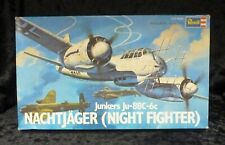 Revell Vintage Junkers JU-88c Night Fighter 1:72 Scale Aircraft Model Kit