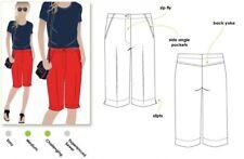Free UK P&P - Style Arc Ladies Sewing Pattern Jennifer City Shorts (MLPW0...