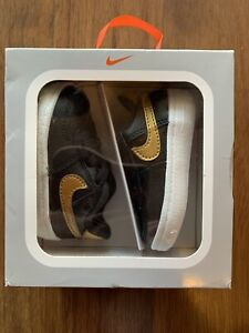 New NIKE Force 1 Crib CB Baby Infants Shoes Sneakers Booties Sz 2C 2 US 17 EUR
