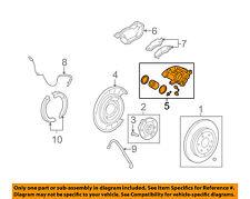 GM OEM Rear-Brake Disc Caliper 15855609