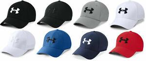 Under Armour Men's UA Blitzing Stretch Fit Cap Mesh Flex Hat Many Colors