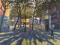 "RAIMONDAS KUCINAS ORIGINAL OIL PAINTING ""Covent Garden""  18x24 inch"