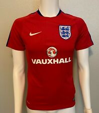 Nike Authentic England National Football Jersey Away - Red - Men's Small