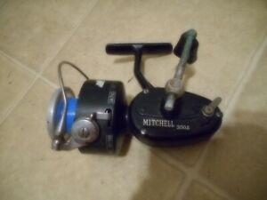 Vintage Mitchell 300A Open-Face Fishing Reel Made in France for parts